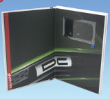 Factory cinese Cardboard 2.4inch Video Book con Printing per Advertisement