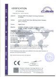O Ce e o GV aprovaram a impressora da bandeira do cabo flexível da cabeça de 2.5m 8feet um Epson Dx7