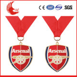 昇進の顧客用ステンレス鋼メダル供給