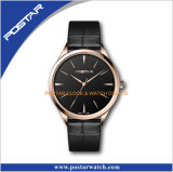 Swiss Movt High Quality Leather Band Automatic Hommes Montres de poignet