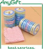 魔法タオル、圧縮されたタオル、使い捨て可能な使用のための魔法の圧縮された乾燥したタオル、ホテル、レストラン