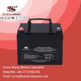 baterías de plomo selladas recargables de la potencia de la batería VRLA del gel de 12V 33ah