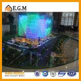 Коммерчески модели здания/модели выставки/модель мультимедиа звука и света/модель изготовления на заказ
