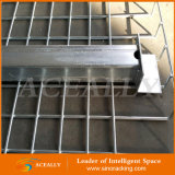 Decking de treillis métallique de barrière en métal