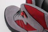 Zapato de piel de gamuza de aislamiento de tobillo con el dedo del pie compuesto (SN5308)