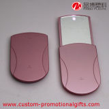 LED Lightとの屋外のPlastic Slide Cosmetic Mirror
