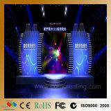 Painel interno da tela da parede video do diodo emissor de luz de P6mm RGB
