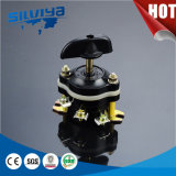 電気モーター(Hz10-25/3)のためのタワーのロータリースイッチ