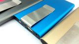 Originl最も新しい100%年の力は5000のmAhの外部バッテリー・バックアップの充電器を取引する