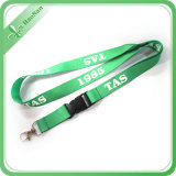 Hook를 가진 주문 Size Silk Screen Printing Logo Practical Lanyard