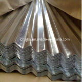 電流を通された波形の鋼板の屋根ふきシート