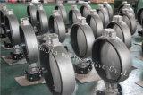 O tipo válvula da bolacha do aço inoxidável de borboleta com ISO Wras do Ce aprovou (CBF01-TA01)