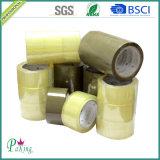 48 cinta adhesiva del color BOPP del Mic Brown para el embalaje del cartón