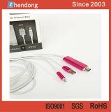Cable del convertidor de la TVAD para el iPhone