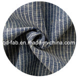 Tela teñida de Shirting del algodón/del hilado de lino (QF13-0765)