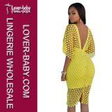 Skirt Dress (L36094-1)女性のBodyconの包帯の女性