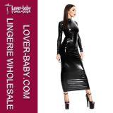 2PCS 섹시한 겉옷 가운 여자 투명한 란제리 (L51298)