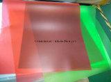 Gekleurd In reliëf gemaakt Transparant Plastic Stijf pvc- Blad voor Pritning