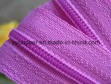 Zipper Chain longo do Zipper de nylon da cor do cliente