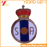 Badge Badge en or 3D Crown pour cadeau souvenir (YB-LP-57)