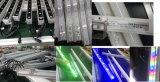 Im Freienwand-Unterlegscheibe im Aluminiumwand-Unterlegscheibe-Licht des silber-70W RGB/White mit DMX/Spi Steuerung