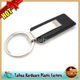 金属(TH-05064)との熱いカスタム革Keychain