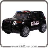 Elektrische Fahrt auf Polizeiwagen