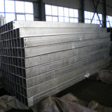 150X150mm X 8mm Hot Dipped Galvanized Steel Pipe voor Steel Structure