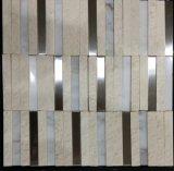 浴室水証拠の自然な石造りの床タイル(FYSM088)
