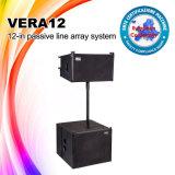 Línea profesional sistema de sonido de los altavoces de la etapa Vera12 de DJ del arsenal