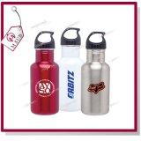 botella de agua en blanco 750ml con la impresión personalizada sublimación de la insignia