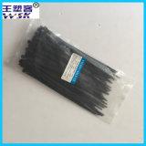 Cinta plástica de nylon preta da venda por atacado 5*200mm da fábrica da cinta plástica de Zhejiang com amostra livre
