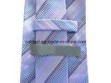 Пурпуровый Silk галстук с картиной зуба застежки -молнии