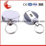 Metallo su ordinazione di prezzi bassi e distintivo ritrattabile di plastica