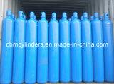 Cilindri di ossigeno d'acciaio ad alta pressione 50L (10 M3) con il W.P. 200bar