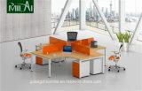 특허가 주어진 프레임을%s 가진 최신 디자인 십자가 디자인 오피스 워크 스테이션 사무실 책상