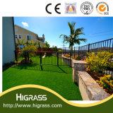 Gazon artificiel synthétique de jardin extérieur