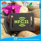 Etiquetas plásticas modificadas para requisitos particulares del equipaje NFC de la impresión RFID