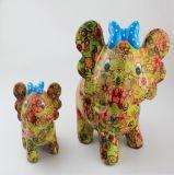L'animal à la mode de produit d'usine d'OEM place le côté de pièce de monnaie en céramique