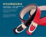 Cinghie di cuoio genuine degli inarcamenti di cinghia degli accessori dell'indumento di modo
