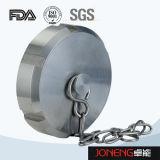 Abrazadera sanitaria inoxidable del extremo del acero 3A/SMS/DIN (JN-FL1002)