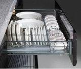 Hoher Standard-Europa-Entwurfs-hoher Glanz-Küche-Schrank