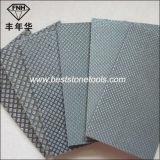 Papel abrasivo mano HD-2 de la mano del cojín de diamante galvanizadas