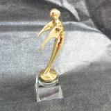 Oscar-Preis-Kristallmetalltrophäe für Musik-Andenken