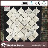 Китайские чисто белые белые конструкции мозаики Carrara мраморный каменные
