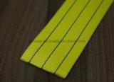 Cinghia 100% della tessitura del poliestere di buona qualità/imbracatura della tessitura/strumentazioni di sollevamento