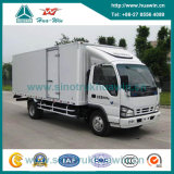 Isuzu 7 Ton 4X2 Euro IV Light Duty Cargo Truck com Single Cabin