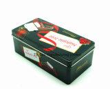 Rectángulo rectangular del estaño para el rectángulo de empaquetado del regalo del estaño del chocolate y del caramelo