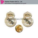 Kundenspezifischer Brass Metal Lapel Pin Enamel Badge für Bar Waiter