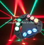 9*10W RGB LEIDEN Effet Licht, in 1 Spin CREE die LED/LED het HoofdLicht van de Straal met 9 Hoofden bewegen